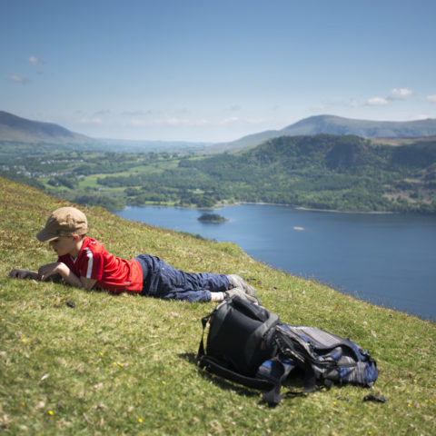 Chilling on Catbells