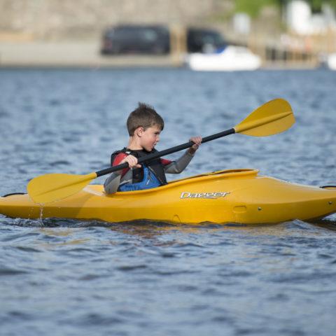 Kayaking on Derwent Water
